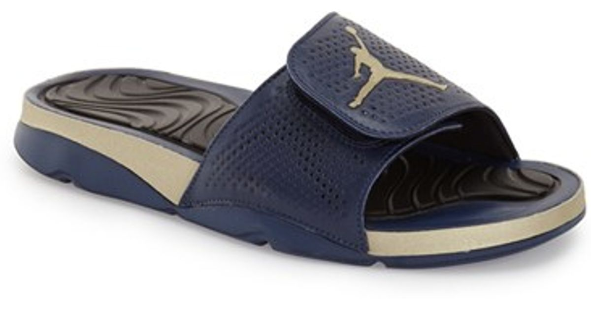 53acd2dbe35e3a Lyst - Nike  jordan Hydro 5  Sandal in Blue