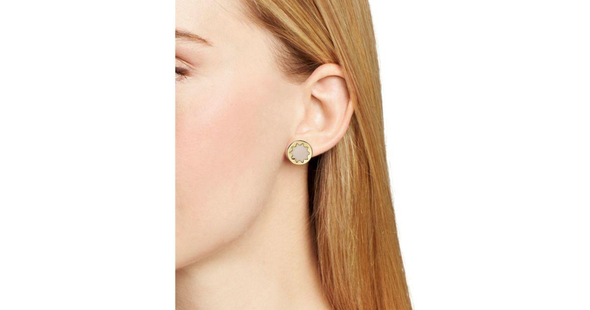 Lyst House Of Harlow 1960 Enamel Sunburst Stud Earrings In