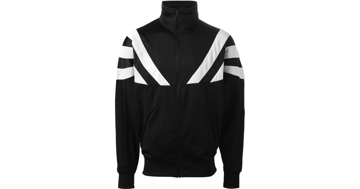 Palacio de deportes chaqueta Adidas x rayas en negro para hombres Lyst