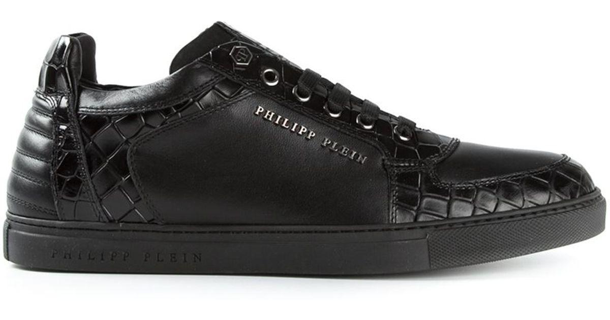 Philipp Chaussures De Sport En Cuir Plein gkKxQnsK