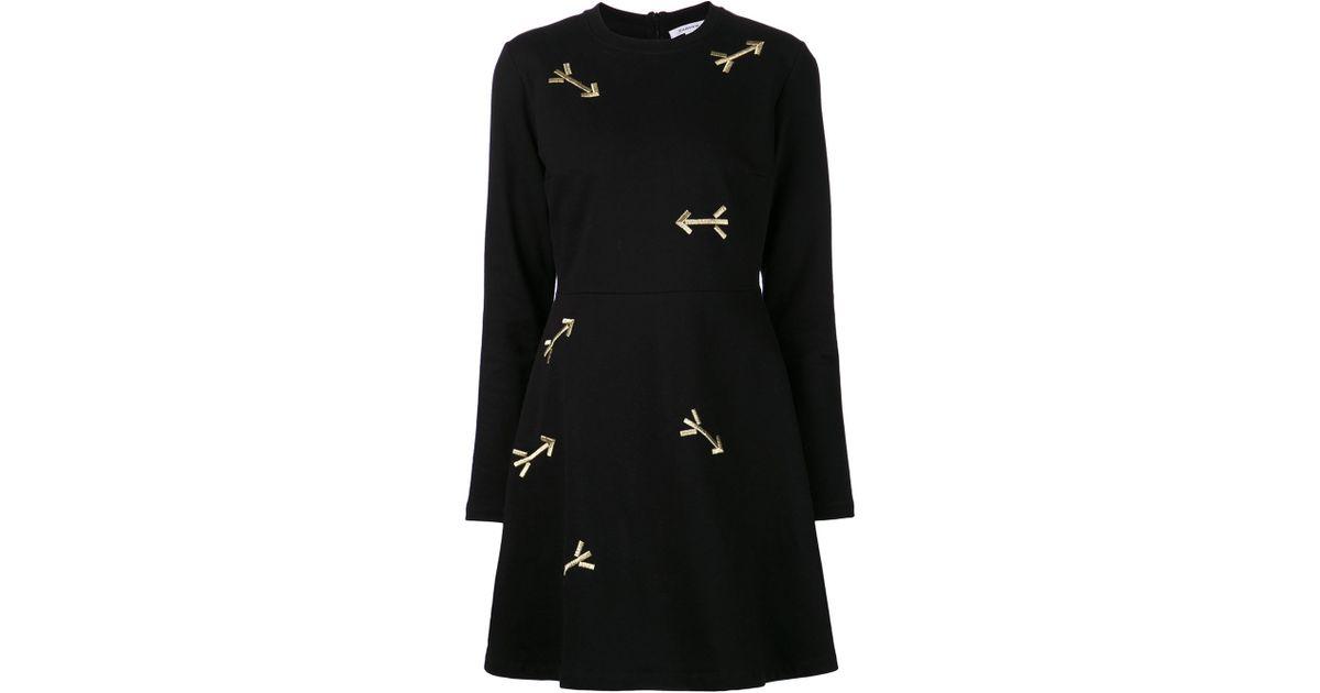 f0f2d64f0e44 Carven Arrow Dress in Black - Lyst