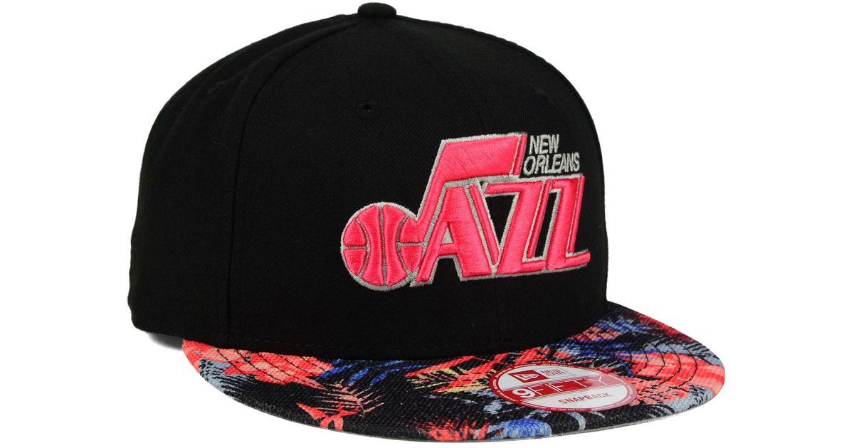 3e43ed667 Lyst - KTZ Utah Jazz Fall Floral 9fifty Snapback Cap for Men