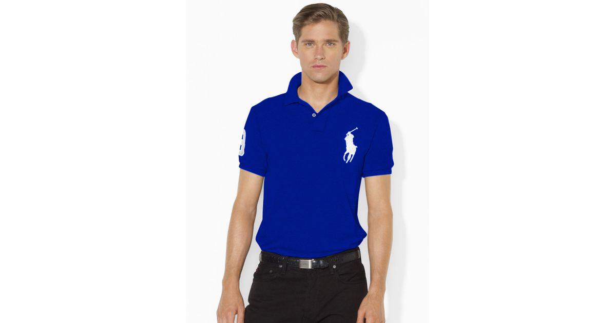 Ralph Lauren Classic Polo Logo White Short Sleeved Pony Women