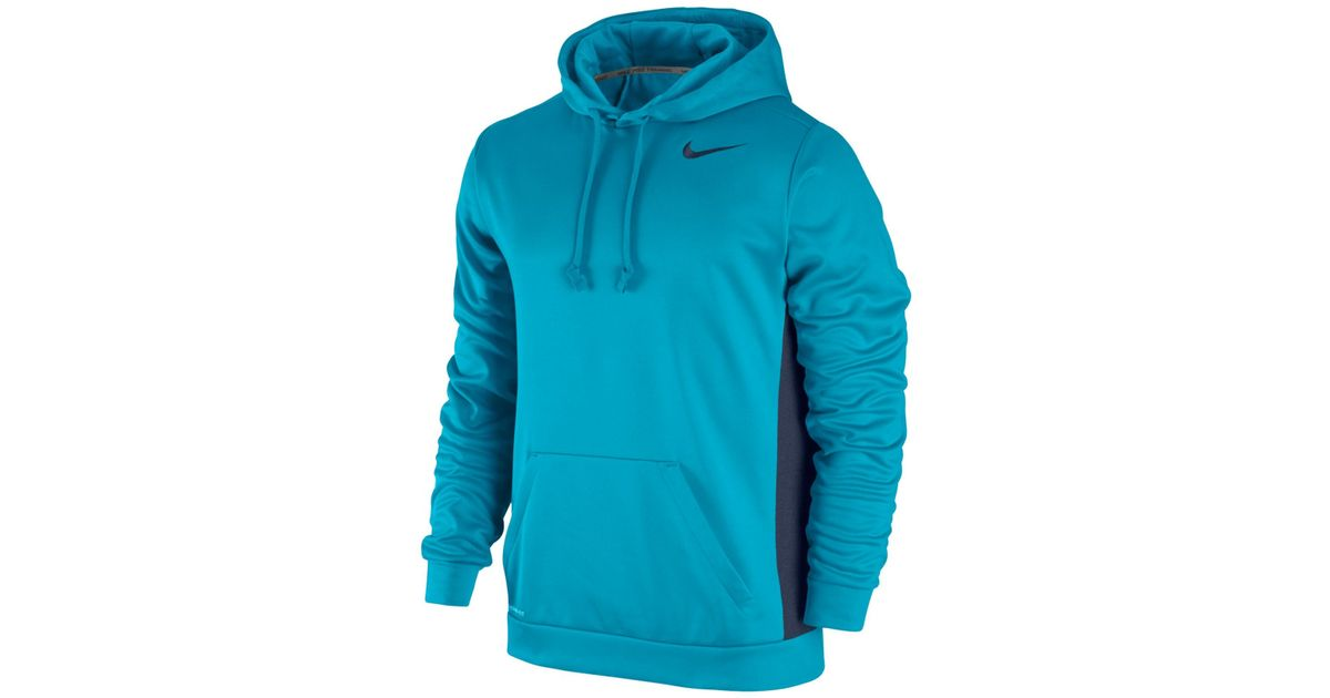 33f0ef1c Nike Men's Ko 3.0 Therma-fit Pullover Hoodie in Blue for Men - Lyst