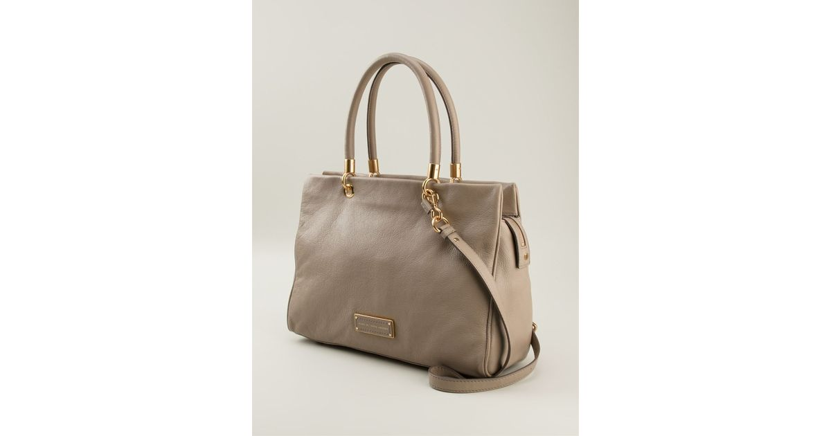ea8d5a1204f5 Lyst - Marc By Marc Jacobs Too Hot To Handle Bentley Tote in Natural