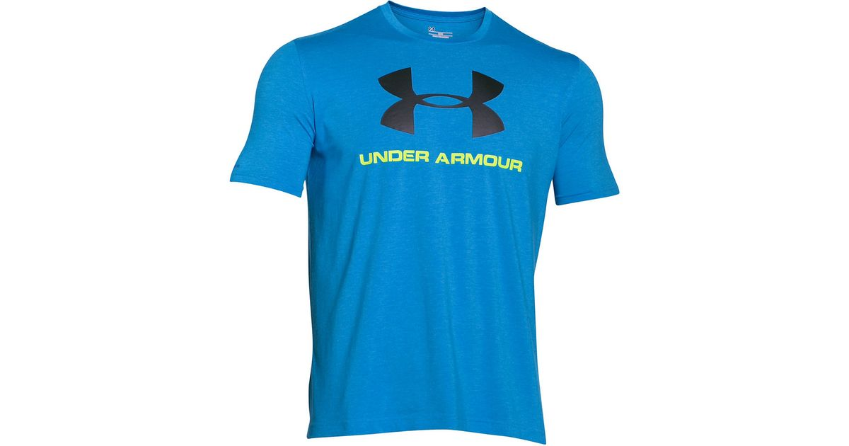 Under Armour Charged Cotton Sportstyle Graphic T Shirt In