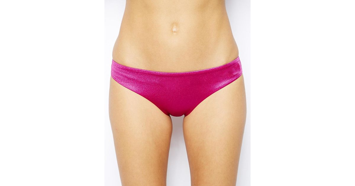 Lyst - Ultimo Hipster Bikini Bottom in Pink a4487227c