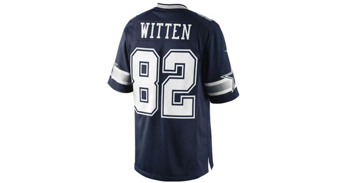 competitive price 7e99b aeb2c Nike - Blue Men's Jason Witten Dallas Cowboys Limited Jersey for Men - Lyst