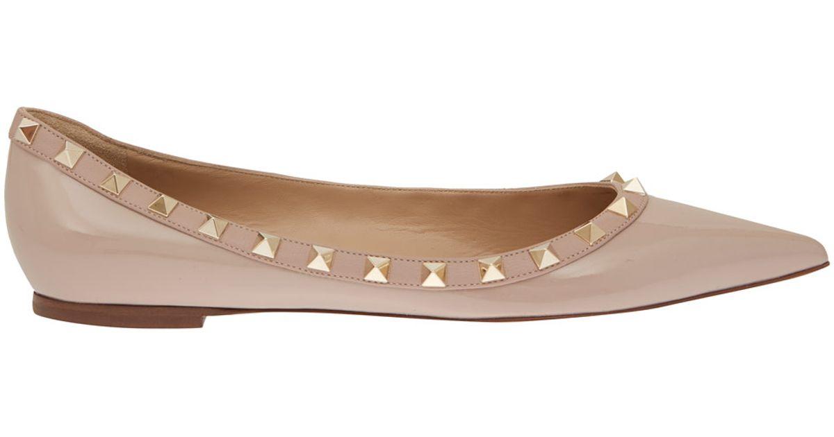 Valentino Patent Leather Flats