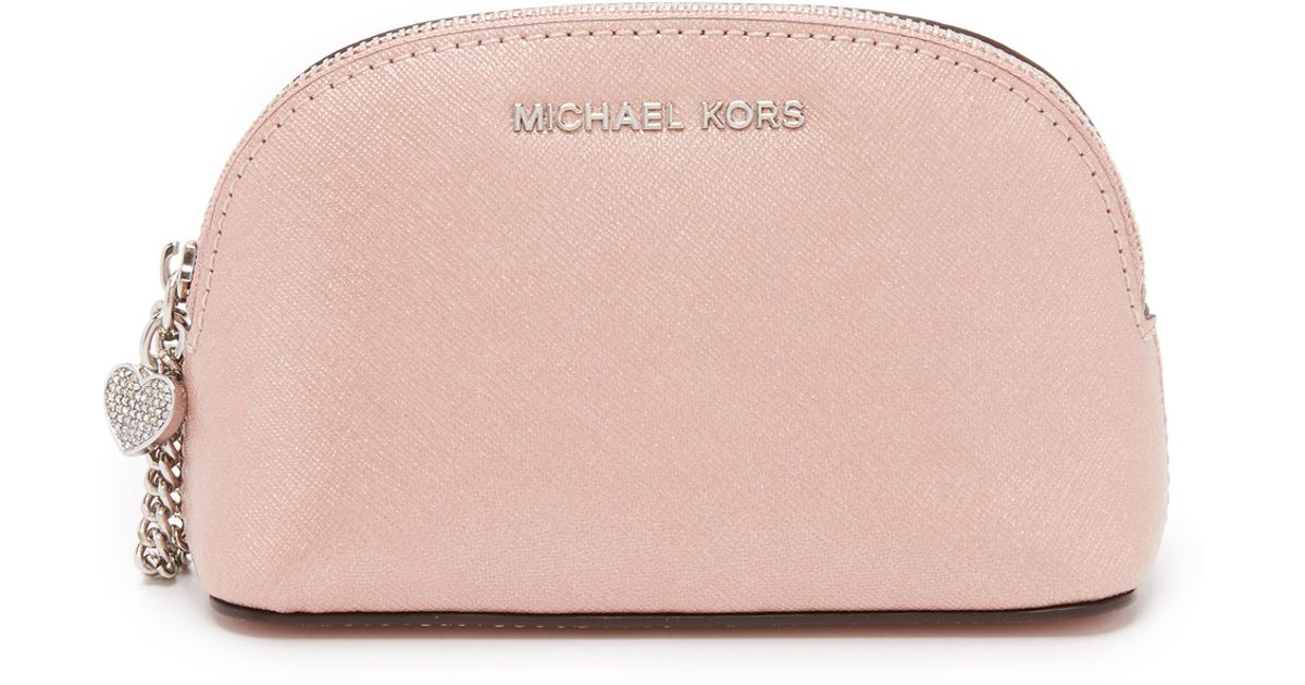 67ce625cebf0ef MICHAEL Michael Kors Alex Small Travel Pouch in Natural - Lyst