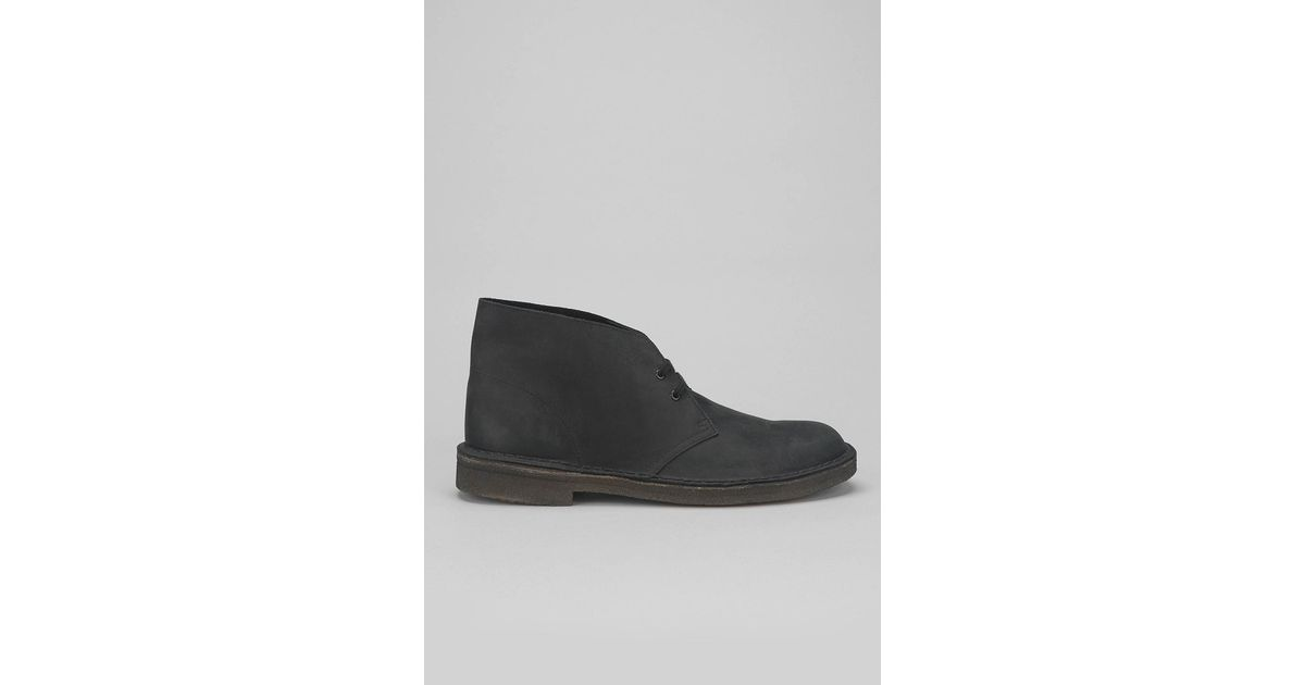 2cda58266a110f Clarks X Uo Beeswax Desert Boot in Black for Men - Lyst