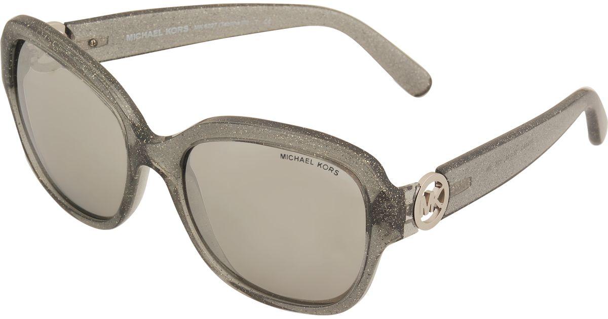 19e1a744cf MICHAEL Michael Kors 0mk6027 Sunglasses in Brown - Lyst
