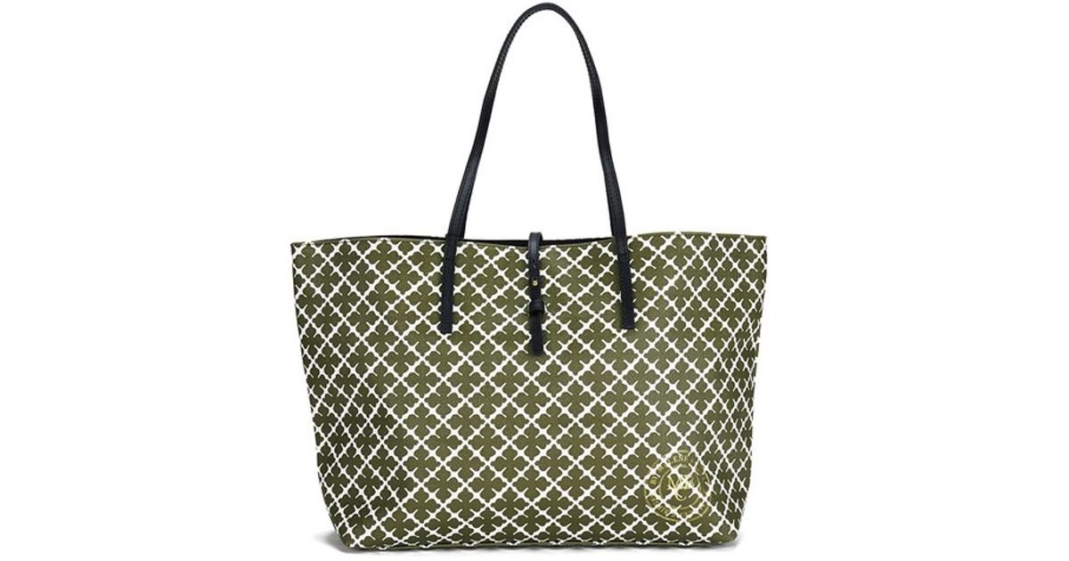 6734a8947620 By Malene Birger Women s Grineeh Printed Tote Bag in Natural - Lyst