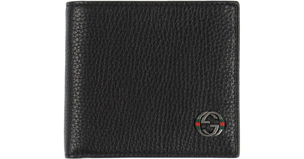 128299914ef6 Gucci Wallet in Black for Men - Lyst