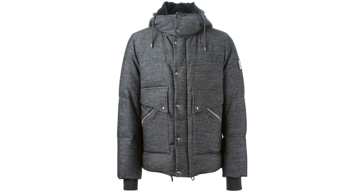 moncler gamme bleu coat