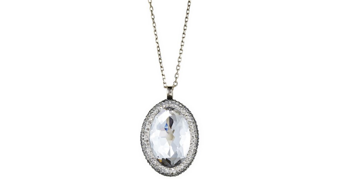 whitegold gold shop front franklyn oval view pendant with entwine white shaped retail diamonds jewellery tanzanite