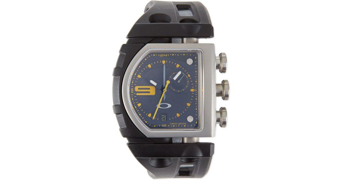 lyst oakley fuse box watch in black rh lyst com fuse box with screw fuse box with drywall