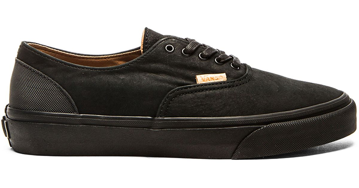 7f818c9813e434 Lyst - Vans California Era Decon Leather Sneakers in Black for Men