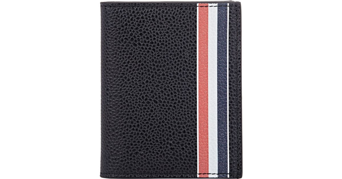 Lyst - Thom Browne Men\'s Hand-painted Business Card Case in Black ...