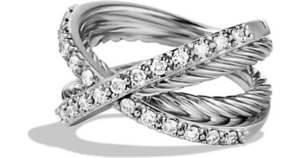 bracelets yurman women products bracelet pdp crossover diamonds with main david diamond x