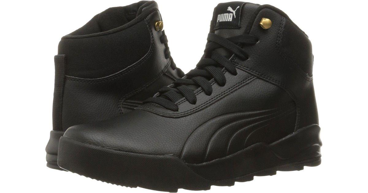 Lyst - PUMA Desierto Sneaker L in Black for Men 515372d01