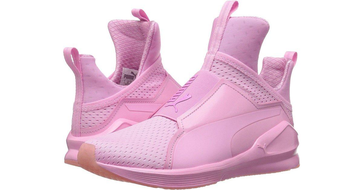 f7a68b99e83 Lyst - PUMA Fierce Bright Mesh Cross-trainer Shoe in Pink - Save 56%