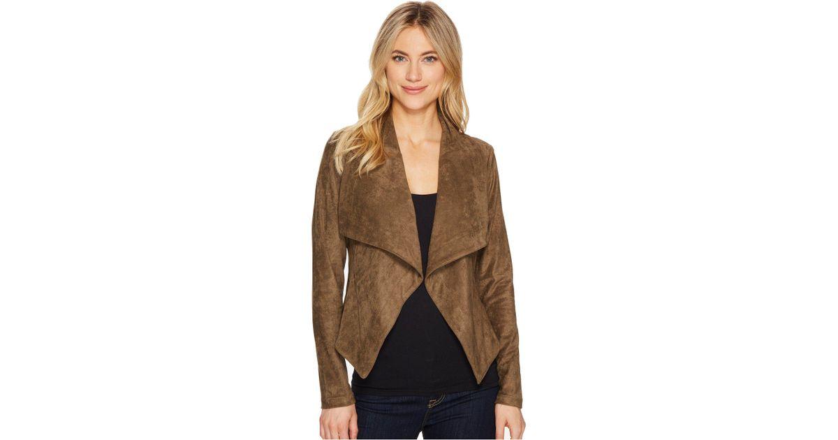 drapes suede dakota m new front draped poshmark bb drape jacket listing
