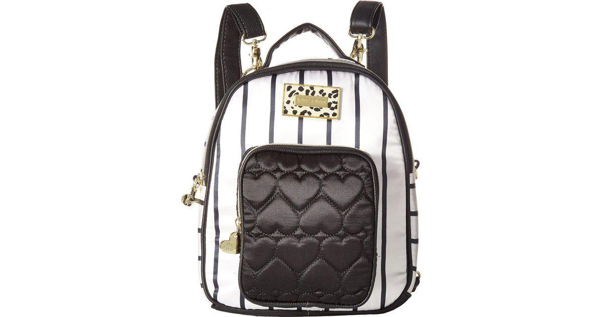 50154b22deb Betsey Johnson - Multicolor Mini Convertible Backpack - Lyst