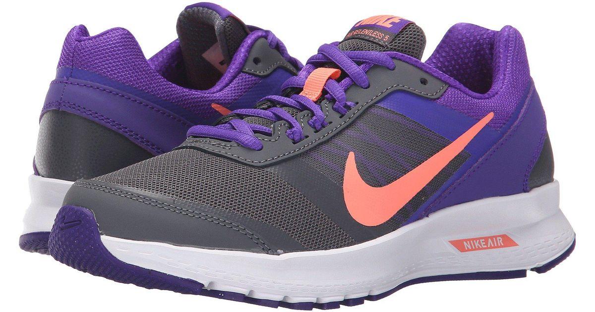 8d439922109 Lyst - Nike Air Relentless 5 in Purple