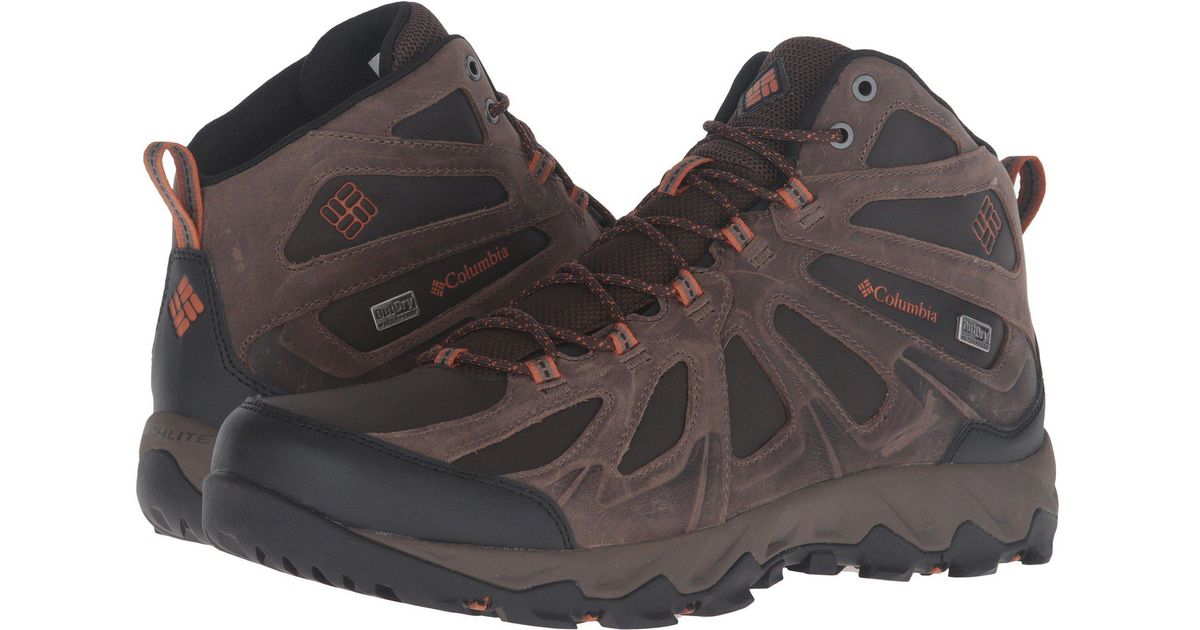 Mid Lyst Columbia Outdry® Ii Xcrsn Leather For Peakfreak Men qFxgwFfH