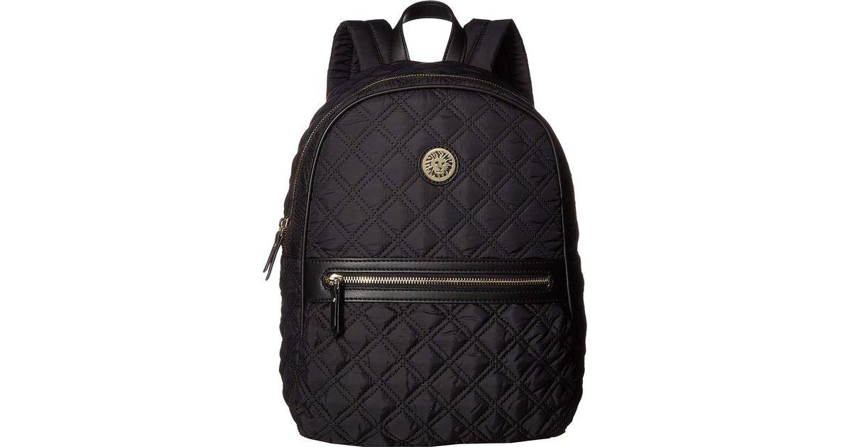 595e5cc1bc22e Lyst - Anne Klein Nylon Remix Backpack in Black anne klein rucksack