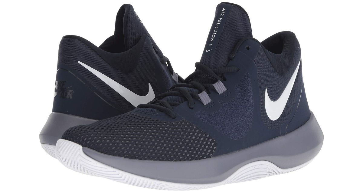 new styles 08e14 71159 Lyst - Nike Air Precision Ii in Blue for Men