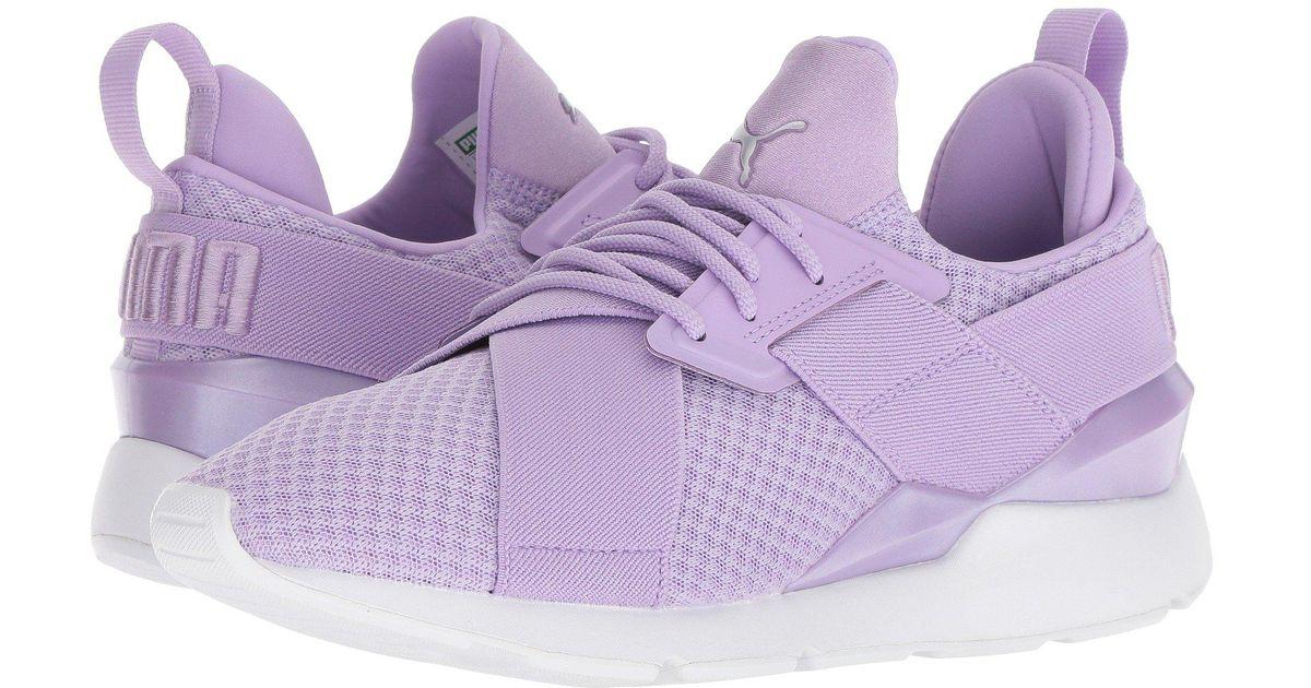 fa078b6ce913 Lyst - PUMA Muse Ep in Purple - Save 58%