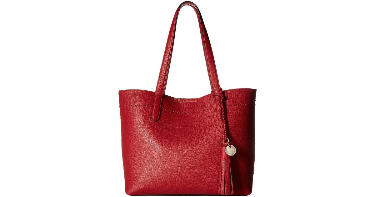 1c2fa9bd3bb7 Lyst - Cole Haan Payson Small Tote in Red