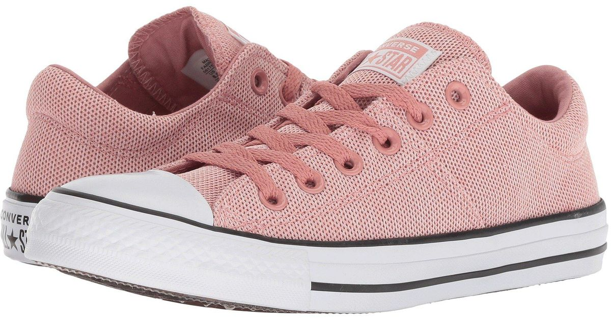 51091b56f76a4f Lyst - Converse Chuck Taylor All Star Madison - Salt And Pepper Ox in Pink