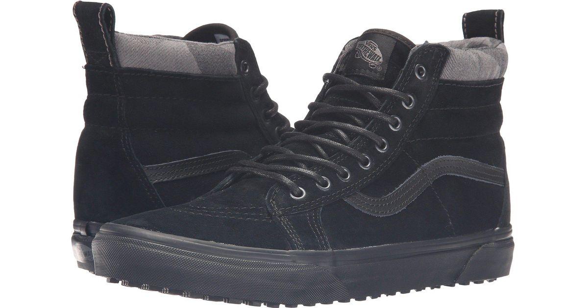 09e1711c13 Lyst - Vans Sk8-hi Mte in Black for Men