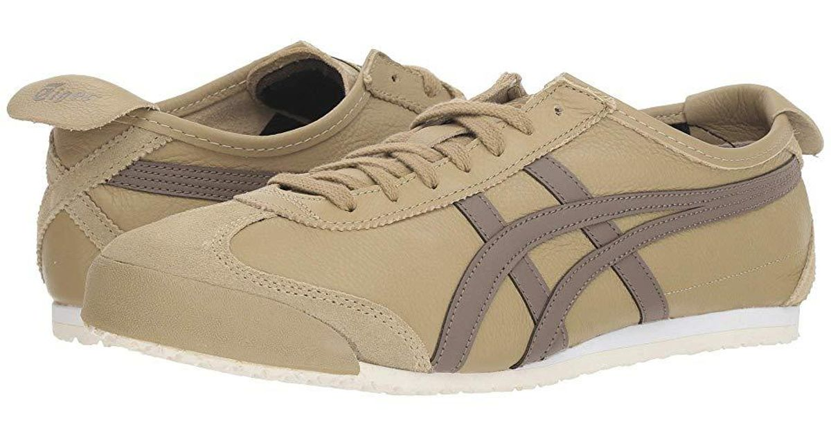 buy online 63beb 6819c Onitsuka Tiger - Natural Mexico 66 (safari Khaki/dark Taupe) Lace Up Casual  Shoes - Lyst