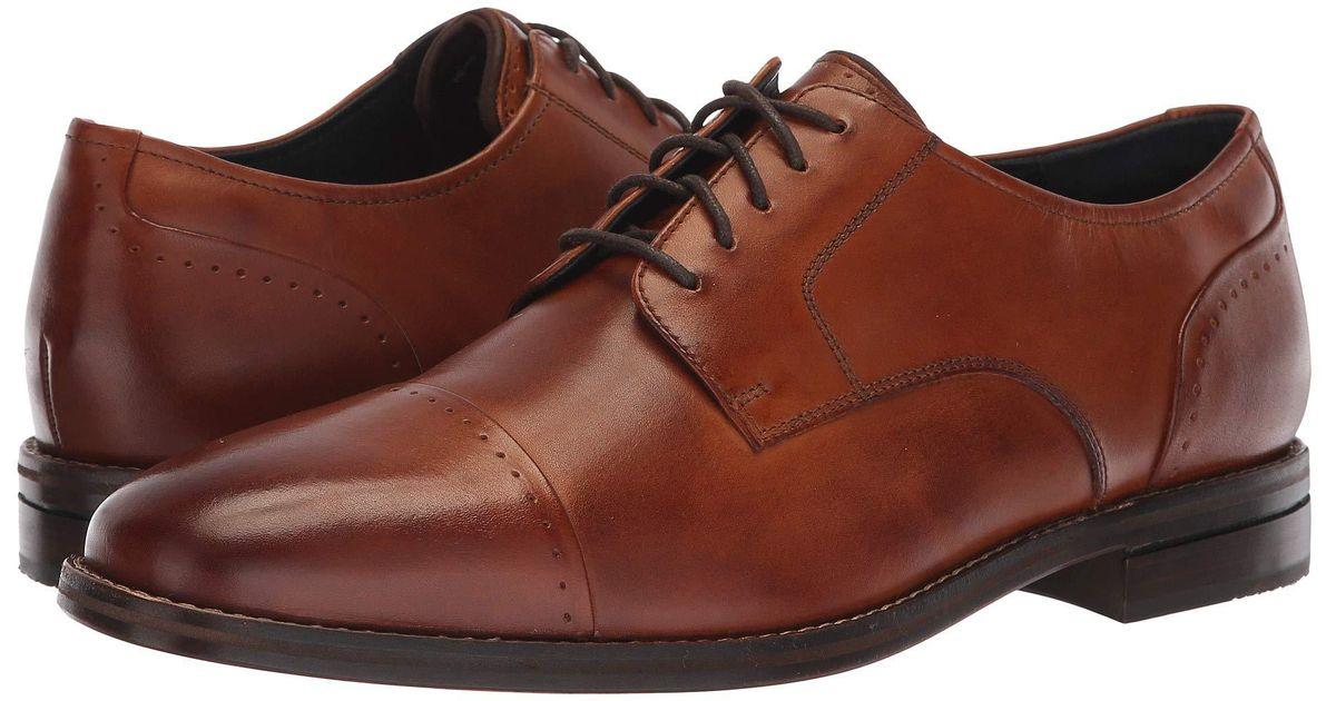 b86813123ed Lyst - Cole Haan Giraldo Grand 2.0 Cap Toe Oxford in Brown for Men