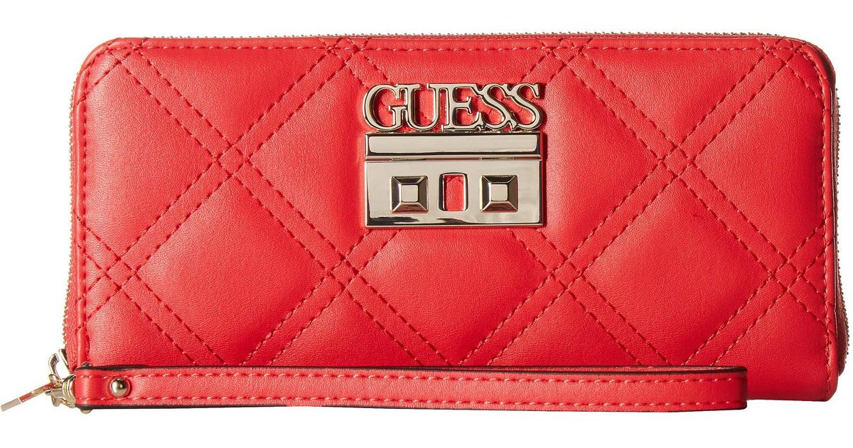 a3ebfd3b3 Guess Status Slg Wallet in Red - Lyst