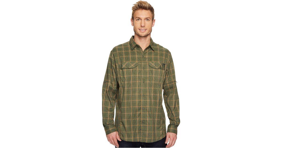 49a80ff8d60 Columbia Silver Ridge Lite Plaid Long Sleeve Shirt in Green for Men - Lyst