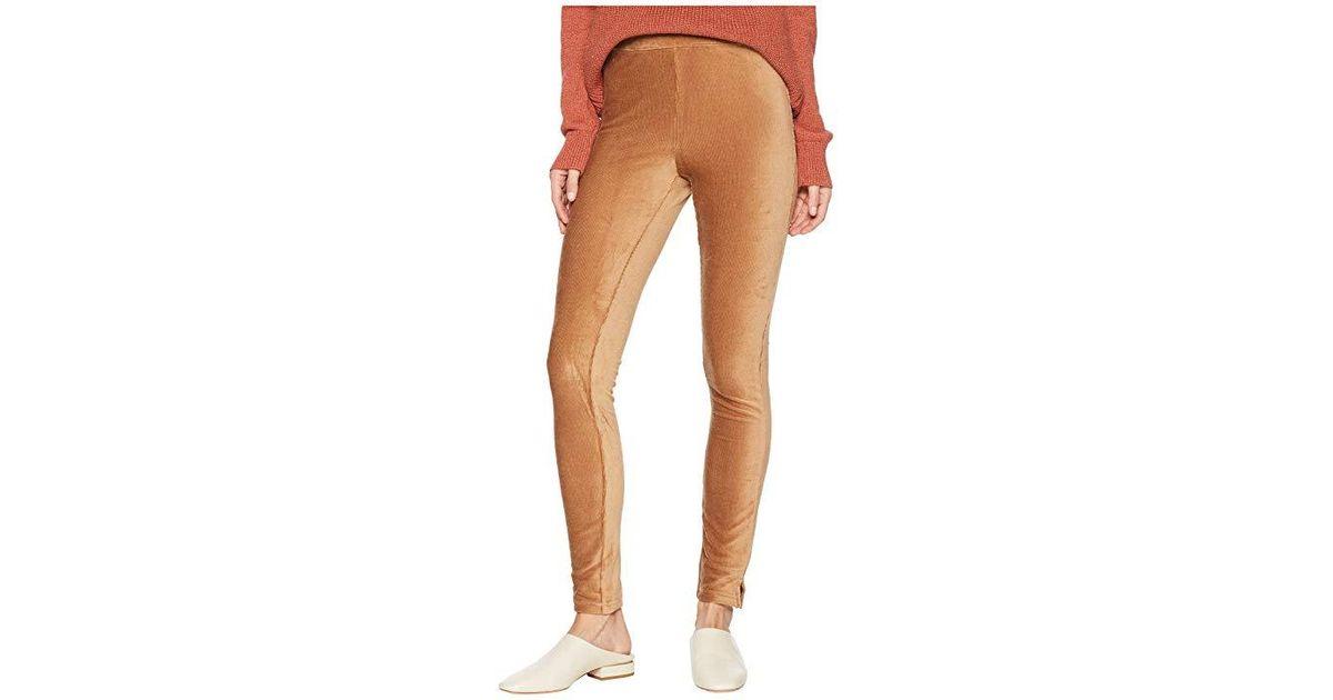 8ac7be880ae171 Hue High-waist Corduroy Leggings (caramel) Casual Pants in Brown - Lyst