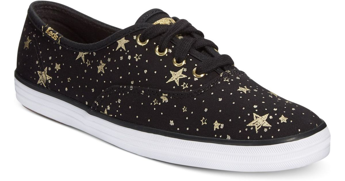 bc01505ac821 Lyst - Keds Women s Champion Celestial Sneakers in Black