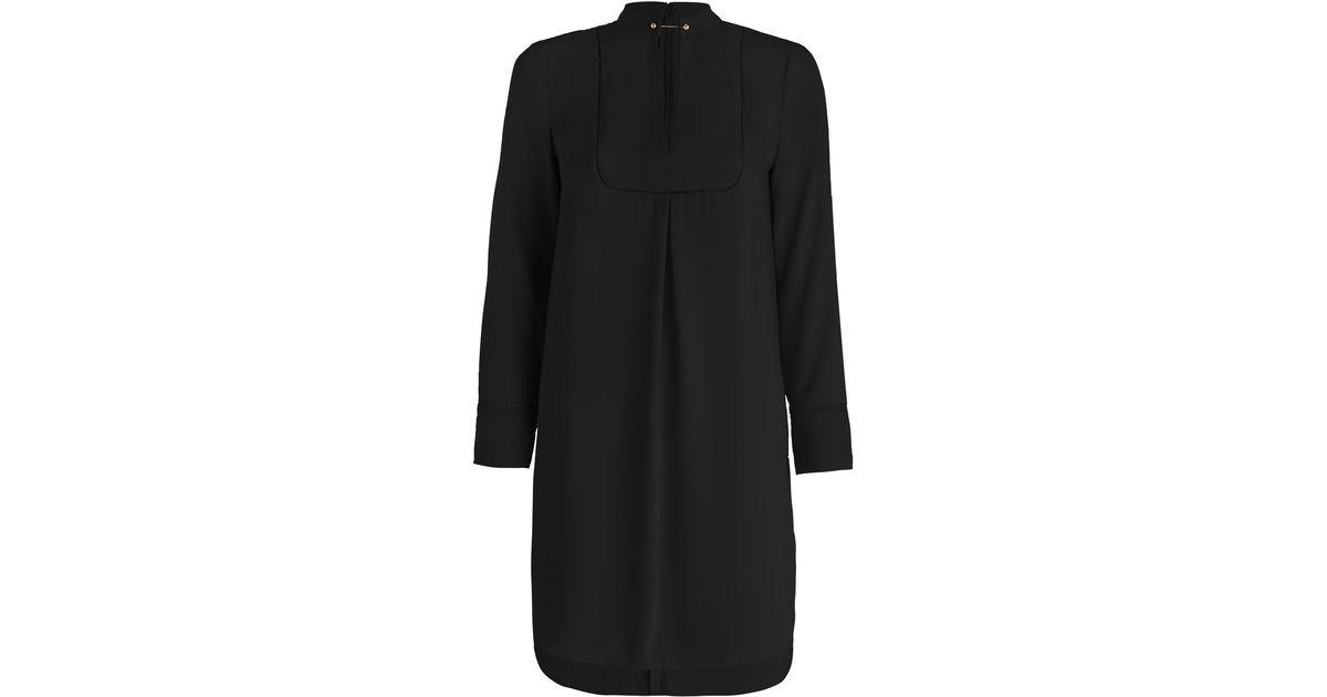 zimmermann baton tunic shirt in black lyst