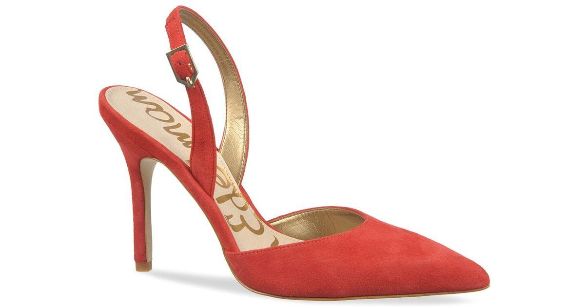 Sam Edelman Women's 'Mark' Slingback Pointy Toe Pump lArPIcSrN