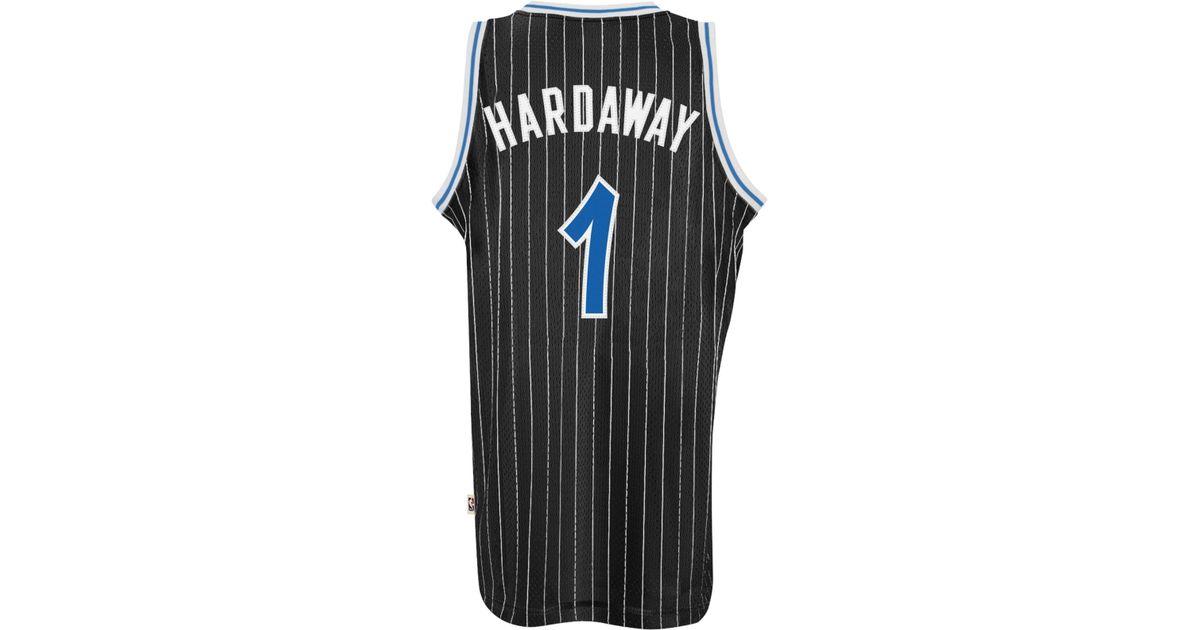 d4ff7d586ae ... czech lyst adidas mens penny hardaway orlando magic retired player swingman  jersey in black for men
