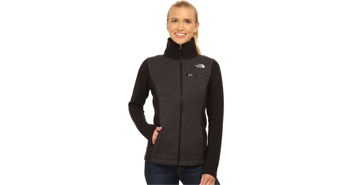 cb25c393 The North Face Indi Insulated Full Zip Jacket in Black - Lyst