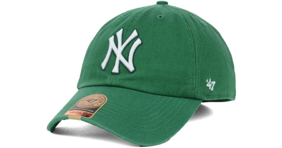 ec905a567 ... cheap lyst 47 brand new york yankees mlb kelly 47 franchise cap in  green for men