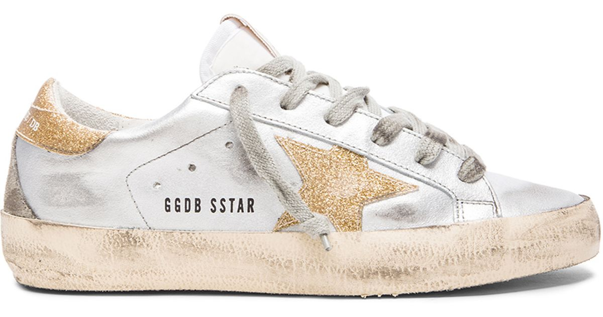 Gold Superstar Leather sneakers Golden Goose Jbzcel