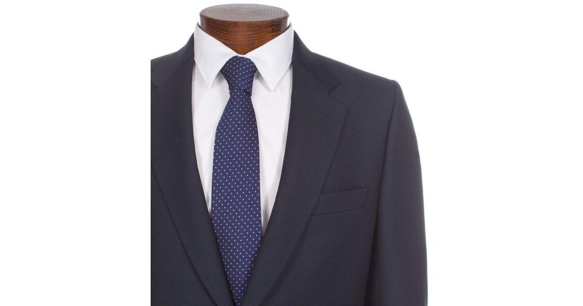 0454303eb0 Paul Smith Men's Navy Micro-dot Wool Mayfair Suit in Blue for Men - Lyst