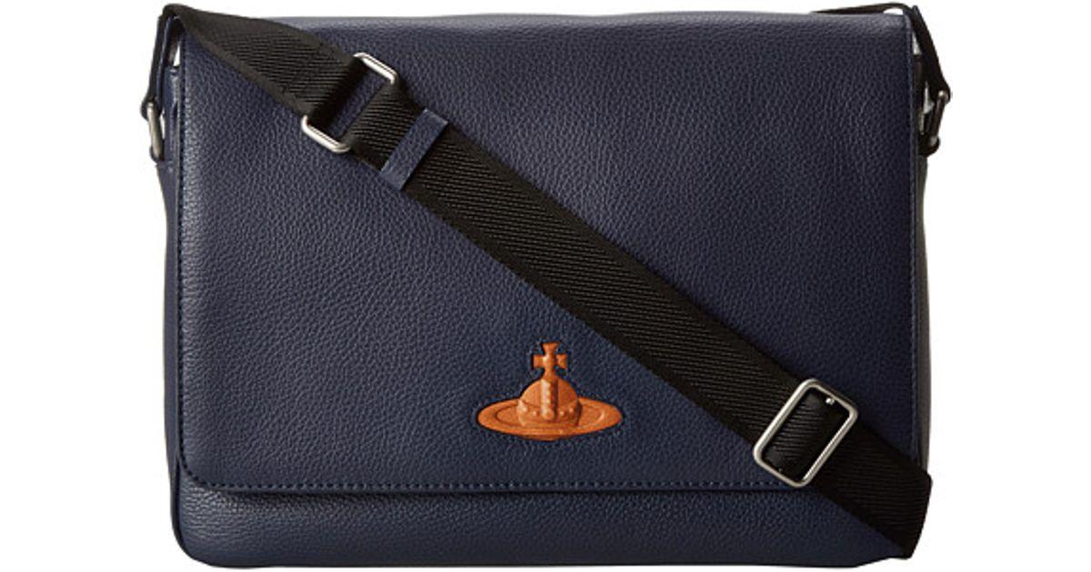 1ce2bb63c81e Lyst - Vivienne Westwood Man Positano Bag in Blue for Men